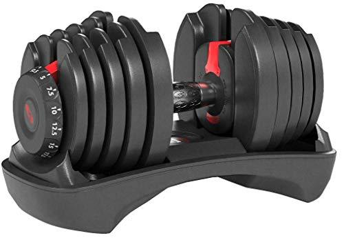 Adjustable Steel Dumbbells (52.5 & 90lbs)
