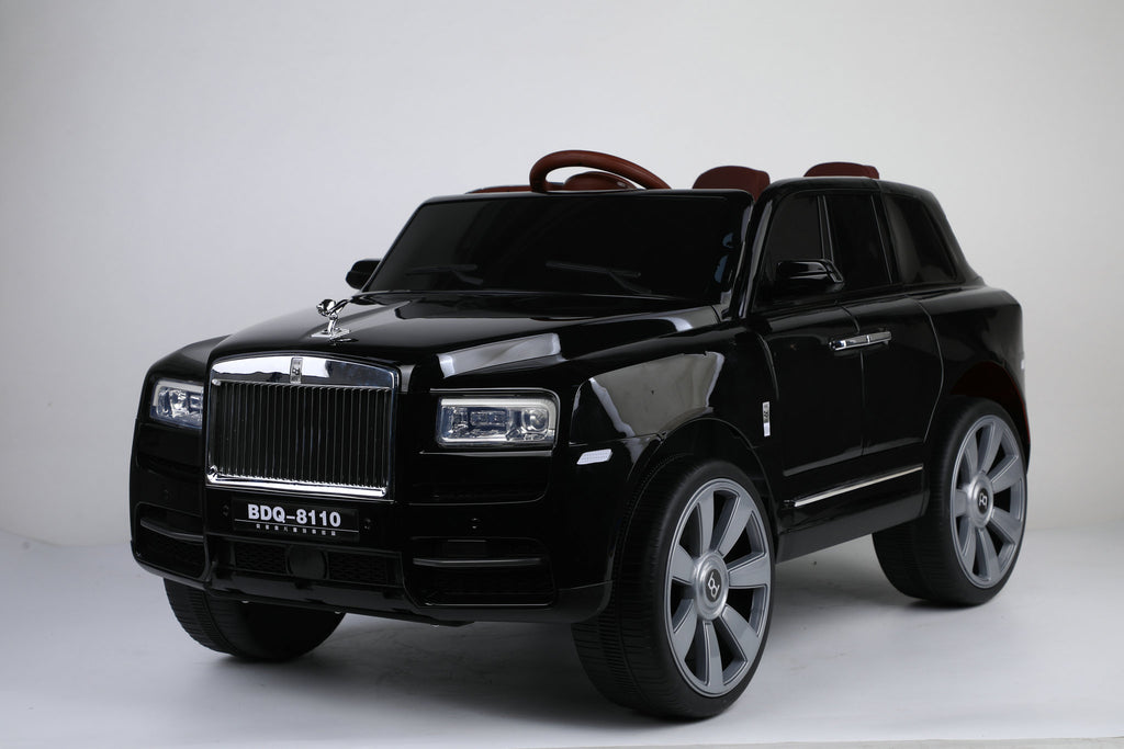 2022 12V Rolls Royce Style Truck | 4x4 Quad | Two Leather Seats & Rubber Tires | Bluetooth Speaker | Hydraulics