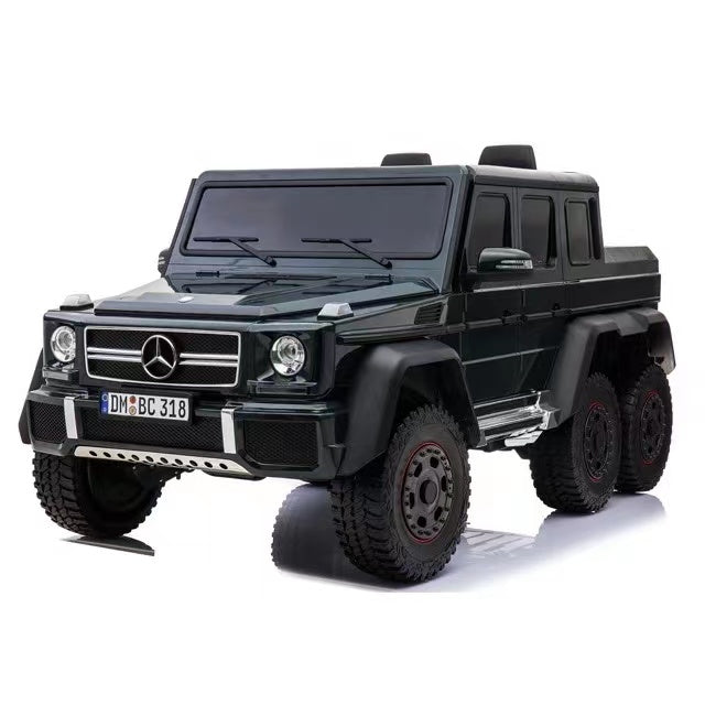 2022 Mercedes G63 6x6 | 24V Battery & 6 Motors | Leather Seat & Rubber Tires | Parental Remote Control