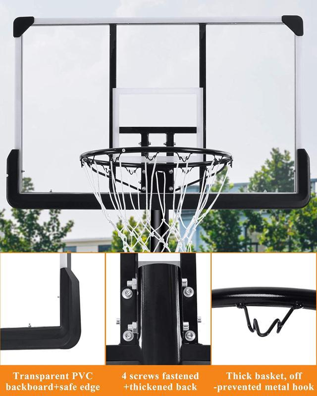 Adjustable Basketball Net   7FT to 10FT   Easy Portability