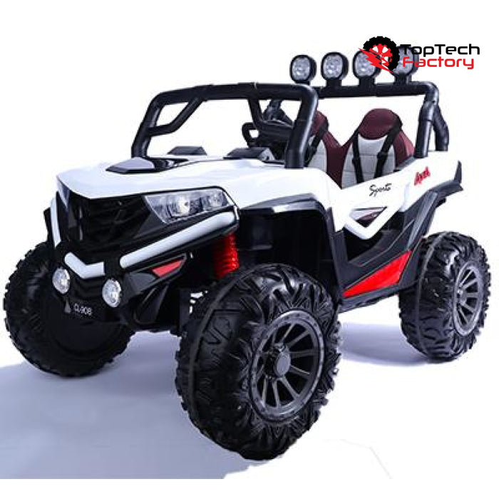 Dune Buggy 24V 2021 Model W/ Leather Seat Rubber Tires & Bluetooth Ride On Cars