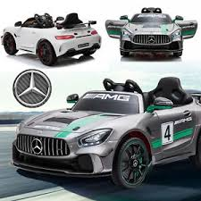Mercedes GT4 w/ Leather Seat, Rubber Tires, Hydraulics, & Electronic Steering