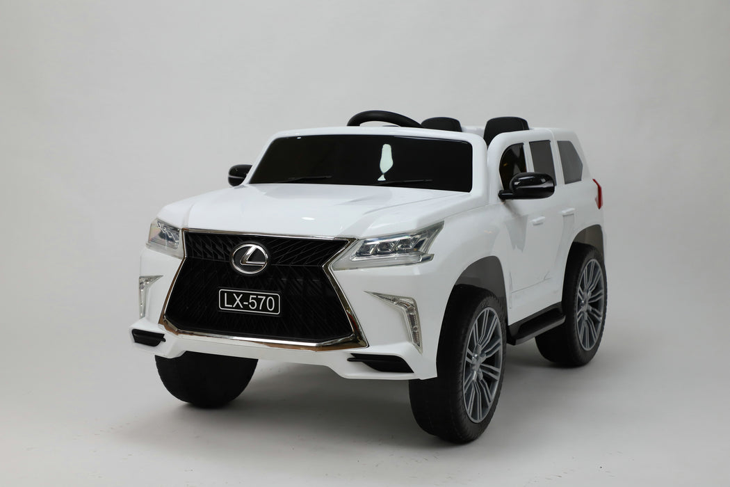 2022 Lexus LX570 | Leather Seat & Rubber Tires | Parental Remote Control Included