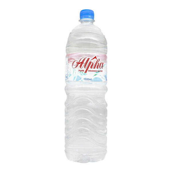 Alpha Mineral Water (12 x 1.5L), Water - The Liquor Shop Singapore