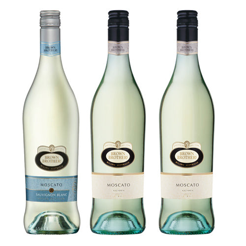Bundle of 3 Brown Brothers (2 Bottle Moscato & 1 Bottle Moscato Sauvignon Blanc),  - The Liquor Shop Singapore