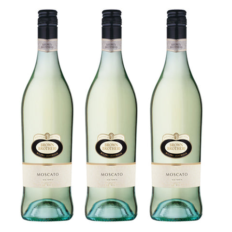 Bundle of 3 Brown Brothers Moscato,  - The Liquor Shop Singapore