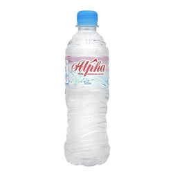 Alpha Mineral Water (24 x 500ml)