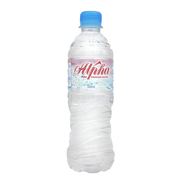 Alpha Mineral Water (24 x 500ml), Water - The Liquor Shop Singapore