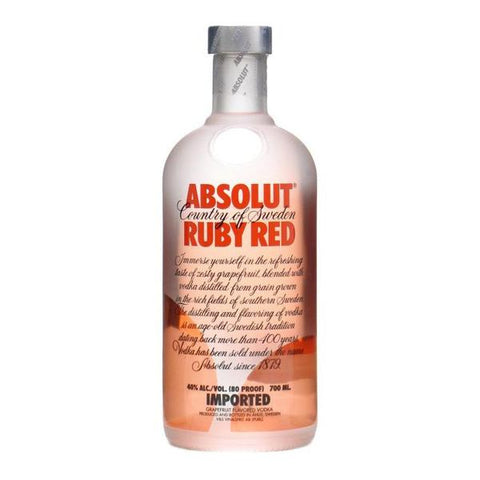 Absolut Ruby Red 75cl, Vodka - The Liquor Shop Singapore