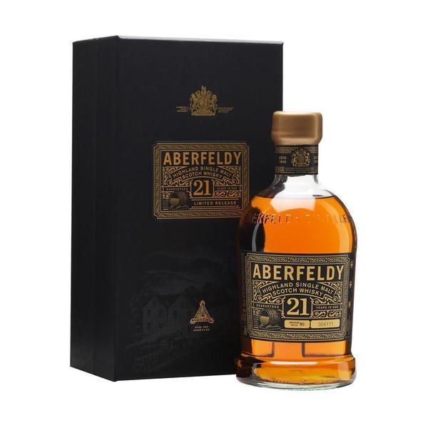 Aberfeldy 21 Years old 75cl, Scotch Whisky - The Liquor Shop Singapore