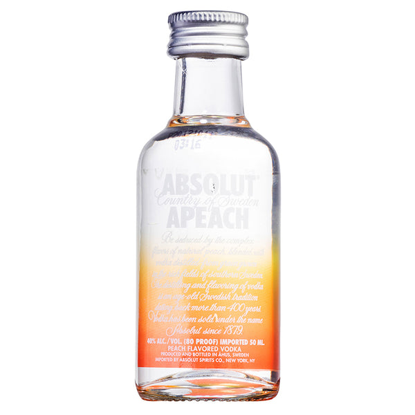 Absolut Apeach Miniature 5cl