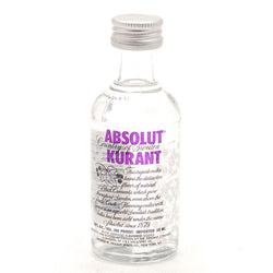 Absolut Kurant Miniature 5cl, Vodka - The Liquor Shop Singapore