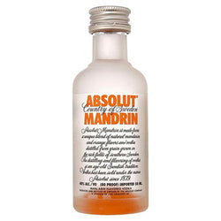 Absolut Mandarin Miniature 5cl, Vodka - The Liquor Shop Singapore