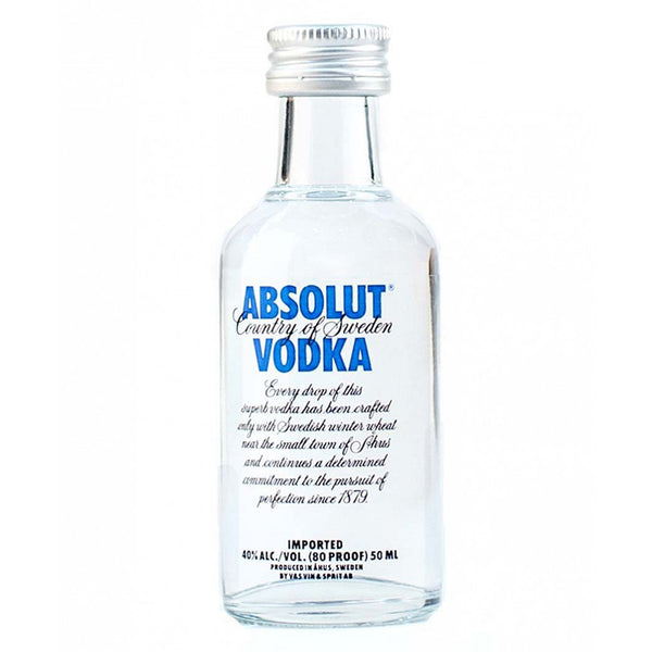 Absolut Vodka 5cl, Vodka - The Liquor Shop Singapore