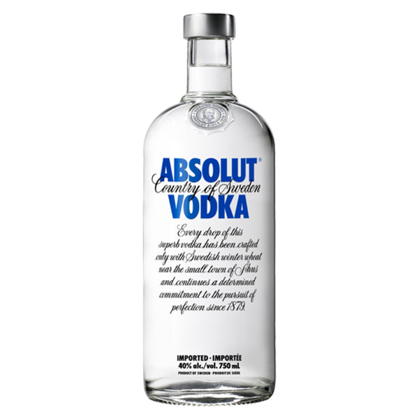 Absolut Vodka 75cl, Vodka - The Liquor Shop Singapore