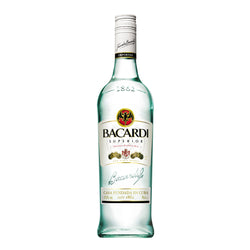 Bacardi Carta Blanca Superior White Rum 75cl The Liquor Shop