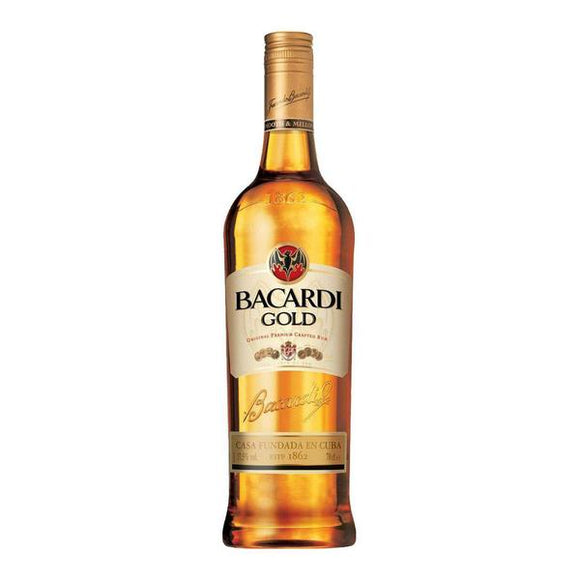 Bacardi Gold Rum 75cl, Rum - The Liquor Shop Singapore
