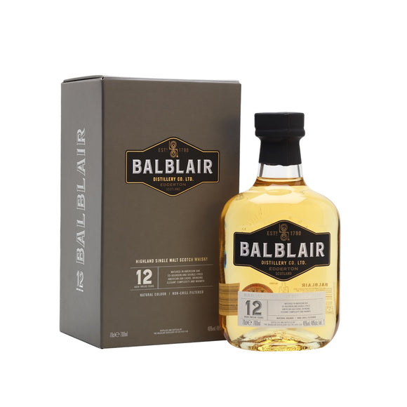 Balblair 12 Years Old 70cl