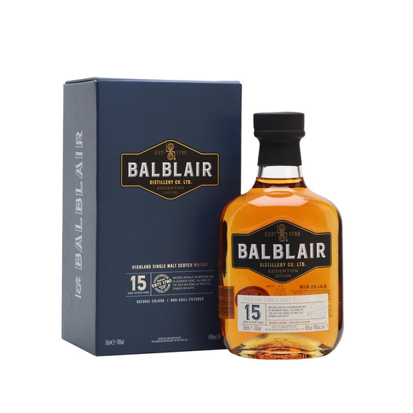 Balblair 15 Years Old 70cl