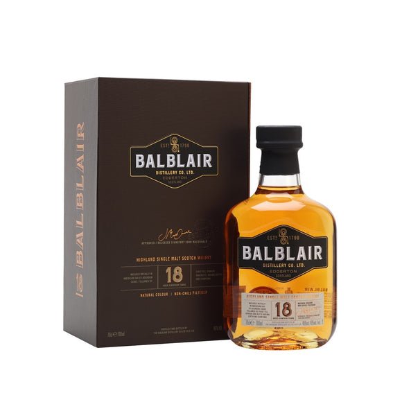 Balblair 18 Years Old 70cl