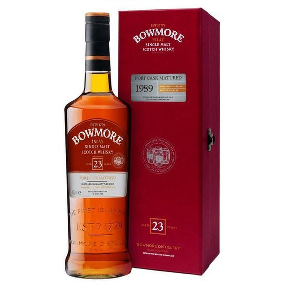Bowmore 1989 23 Years - Port Cask Matured 70cl