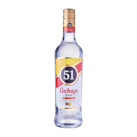 Cachaca 51 Rum 70cl, Rum - The Liquor Shop Singapore