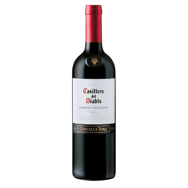 Casillero del Diablo Cabernet Sauvignon 75cl, Red Wine - The Liquor Shop Singapore