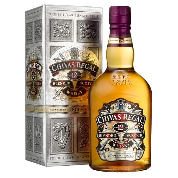 Chivas Regal 12 Years Old 70cl, Scotch Whisky - The Liquor Shop Singapore