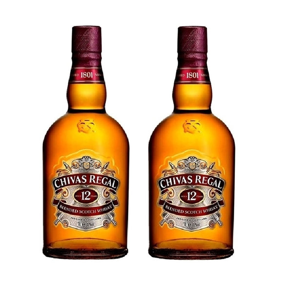 Bundle of Chivas Regal 12 Years Old 70cl