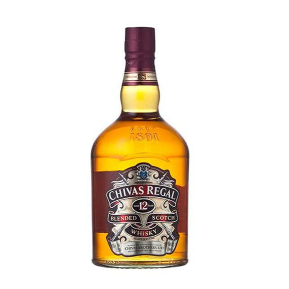 Chivas Regal 12 Years Blended 75cl - The Liquor Shop Singapore