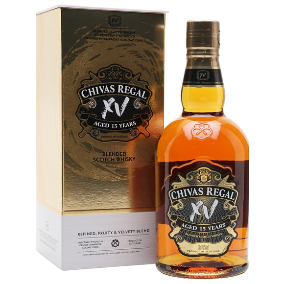 Chivas Regal 15 Years XV 75cl