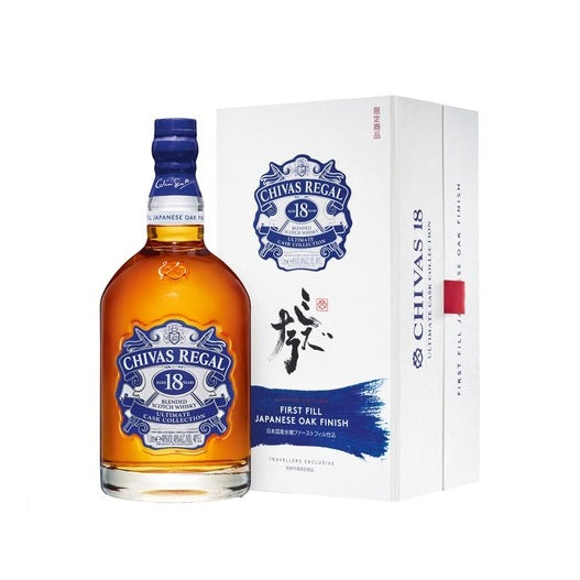Chivas Regal 18 Years Old First Fill Japanese Oak Finish