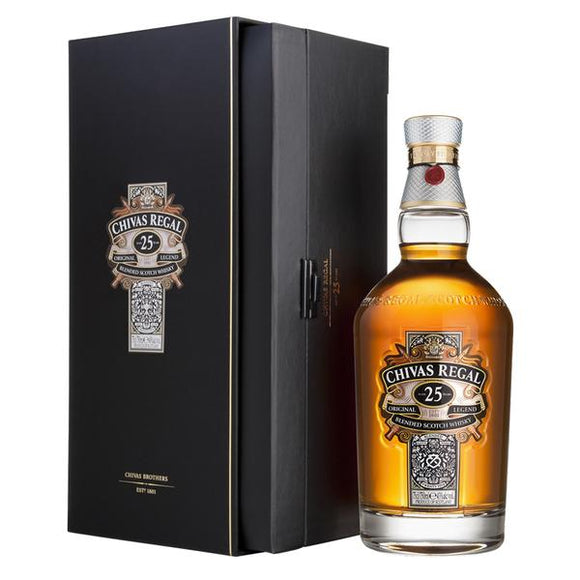 Chivas Regal 25 Years Old 70cl, Scotch Whisky - The Liquor Shop Singapore