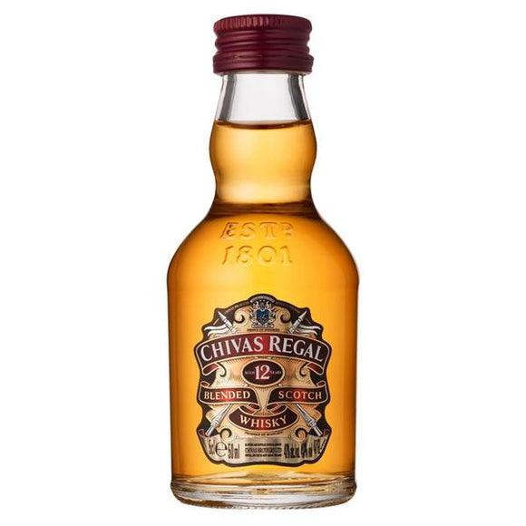 Chivas Regal 12 Years old 5cl (50ml), Scotch Whisky - The Liquor Shop Singapore
