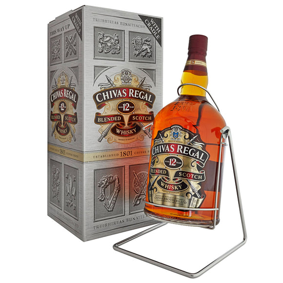 Chivas Regal 12 Years Blended 450cl, Scotch Whisky - The Liquor Shop Singapore