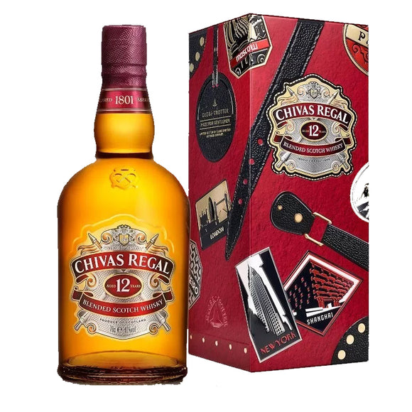 Chivas Regal 12 Globe-Trotter X - The Liquor Shop Singapore