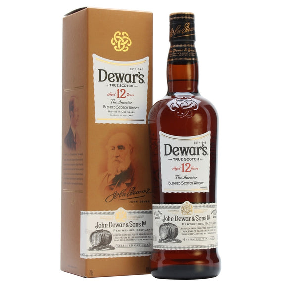 Dewar's 12 Year Old The Ancestor Blended Sotch Whisky