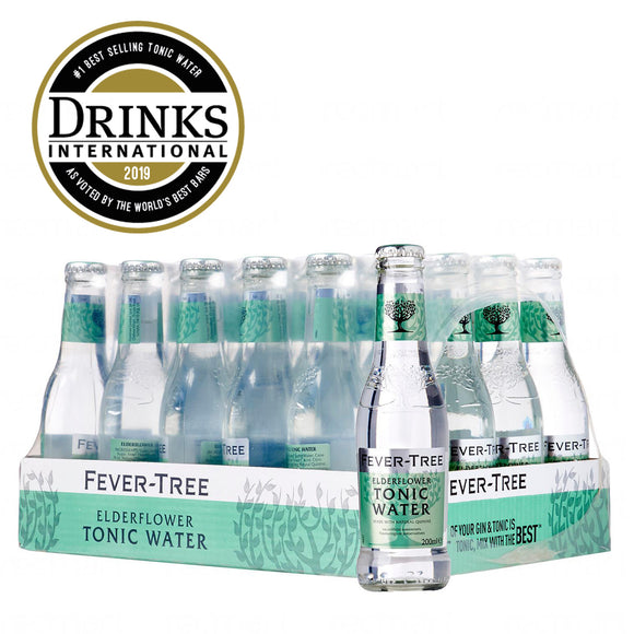 Fevertree Elderflower Tonic Mixer 24 x 200ml