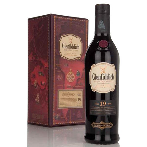 Glenfiddich Age of Discovery 19 Years Red Wine Cask Finish, Scotch Whisky - The Liquor Shop Singapore