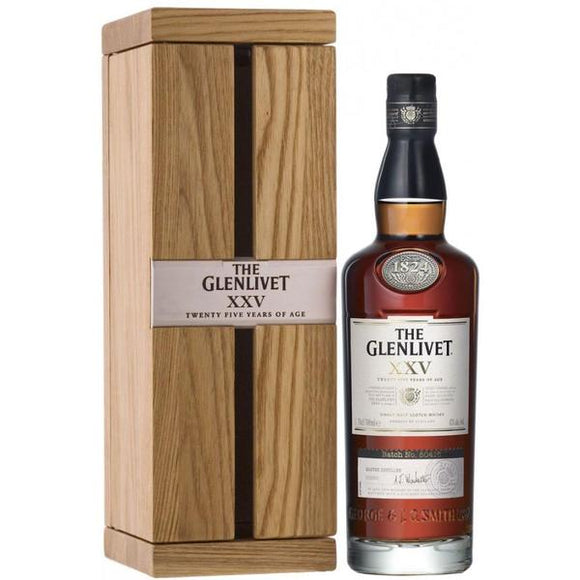 Glenlivet 25 Years Old, Scotch Whisky - The Liquor Shop Singapore