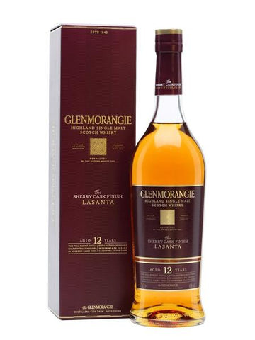 Glenmorangie 12 Years Old Lasanta, Scotch Whisky - The Liquor Shop Singapore