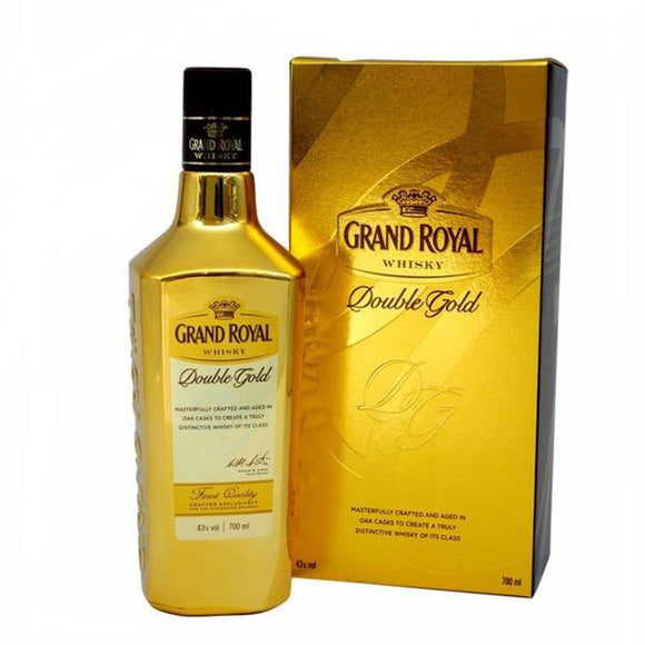 Grand Royal Whisky Double Gold 70cl, Scotch Whisky - The Liquor Shop Singapore