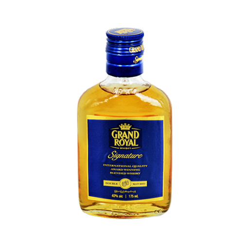 Grand Royal Signature Whisky 17.5cl, Scotch Whisky - The Liquor Shop Singapore