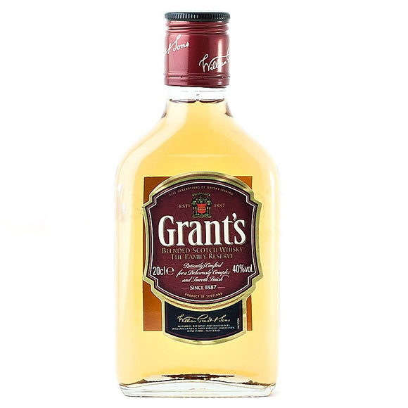 Grant's Finest 20cl, Scotch Whisky - The Liquor Shop Singapore