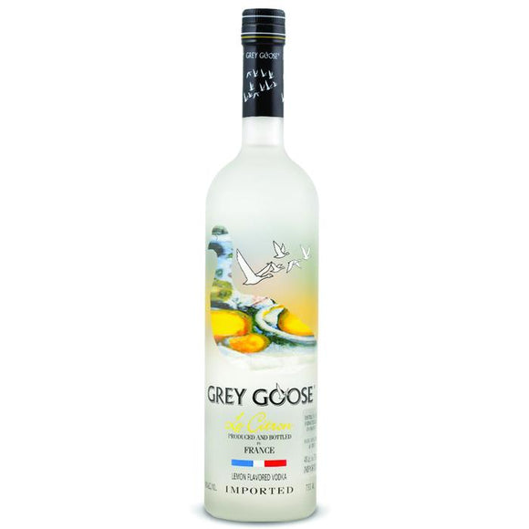 Grey Goose Le Citron Vodka 1L