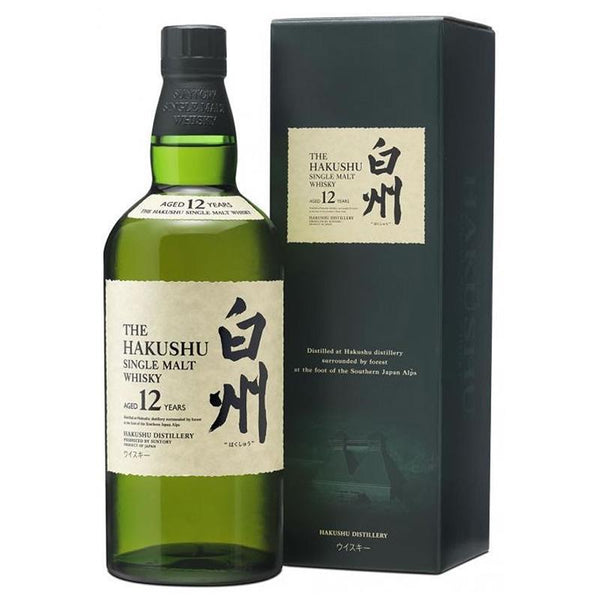 Hakushu 12 Years old, Japanese Whisky - The Liquor Shop Singapore
