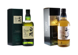 Hakushu 12 Years 70cl + The Chita Suntory 70cl, Japanese Whisky - The Liquor Shop Singapore