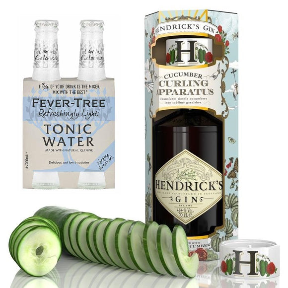 Hendrick's Gin Cucumber Tonic Bundle Set
