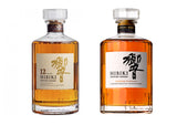 Hibiki 12 Years 70cl + Hibiki Harmony 70cl, Japanese Whisky - The Liquor Shop Singapore