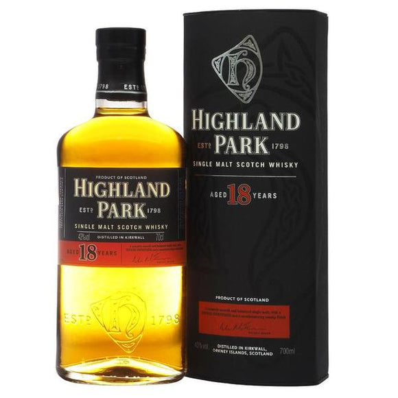Highland Park 18 Years Old, Islands - Edrington - The Liquor Shop Singapore